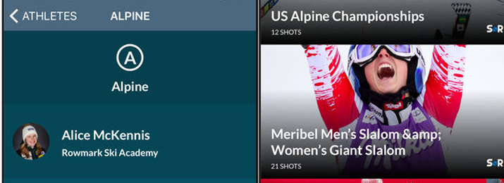 The United States Ski team iOS and Android Mobile Apps
