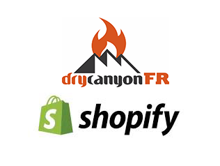 A <b>Shopify</b> site for Dry Canyon FR appareil