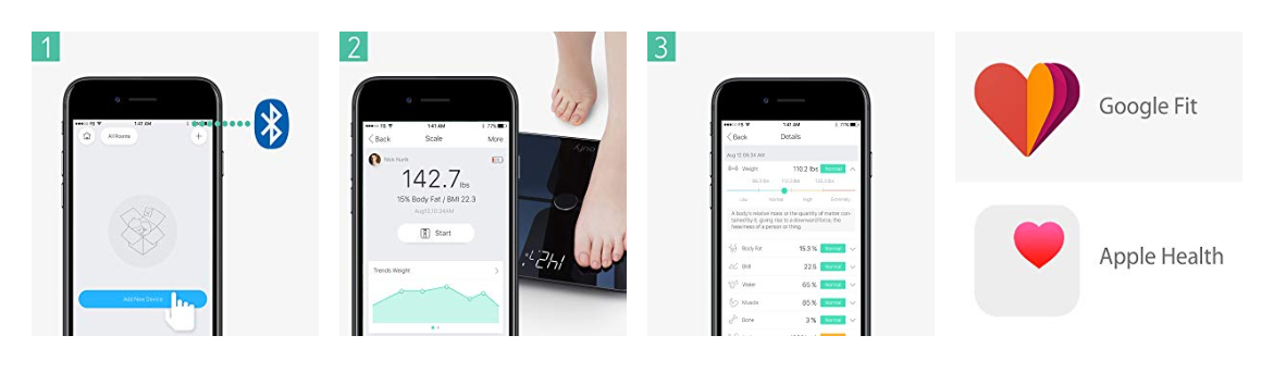 Eufy: A smart scale that makes weighing yourself interesting