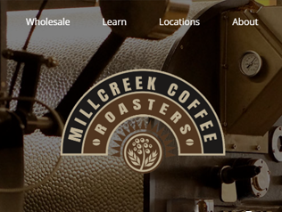 Millcreek Coffee, a <b>WooCommerce</b> project.
