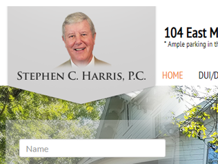The Stephen C Harris <b>WordPress</b> Law website