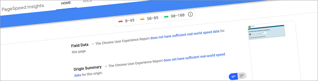Google speedtest: What's slowing your site down