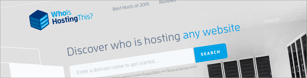 Who is hosting John Doe's website?